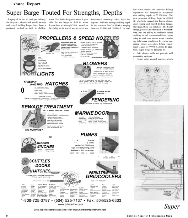 Maritime Reporter Magazine, page 24,  Sep 2001