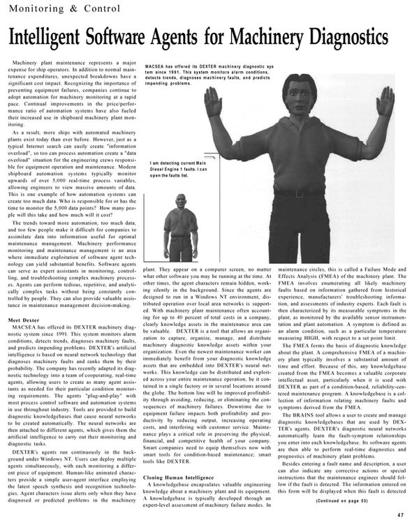 Maritime Reporter Magazine, page 47,  Dec 2001 Local Area Networks