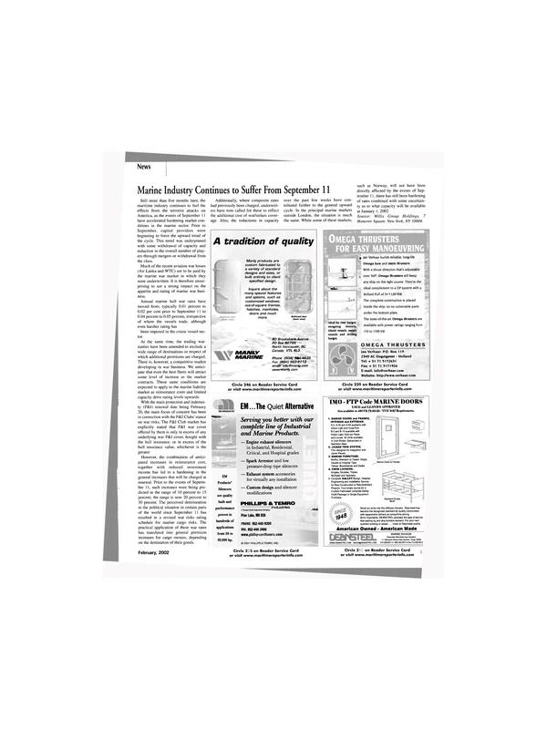 Maritime Reporter Magazine, page 15,  Feb 2002