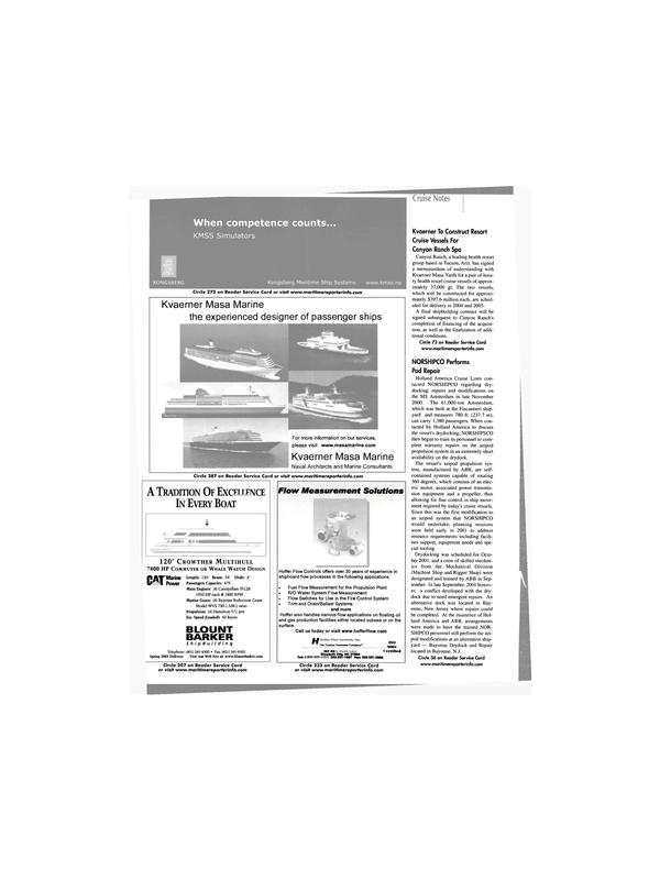 Maritime Reporter Magazine, page 30,  Feb 2002