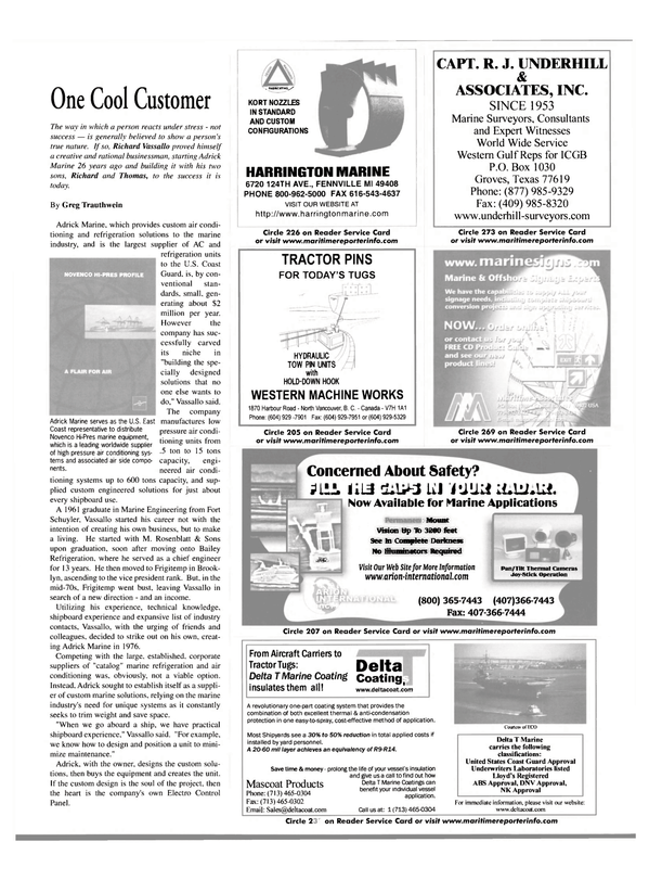 Maritime Reporter Magazine, page 21,  Mar 2002 British Columbia