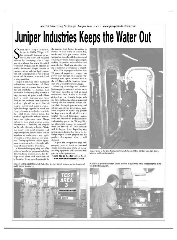 Maritime Reporter Magazine, page 17,  Jul 2002 ventilation products