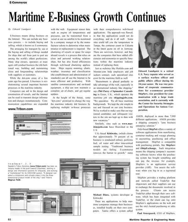 Maritime Reporter Magazine, page 52,  Nov 2002