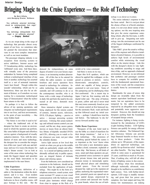 Maritime Reporter Magazine, page 24,  Dec 2002 Gregory Benford