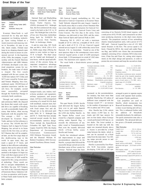 Maritime Reporter Magazine, page 26,  Dec 2002