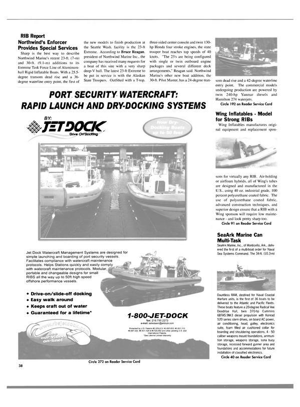 Maritime Reporter Magazine, page 38,  Aug 2003 classified electronics
