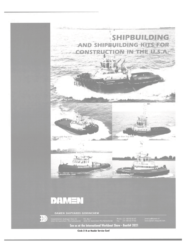 Maritime Reporter Magazine, page 25,  Nov 2003