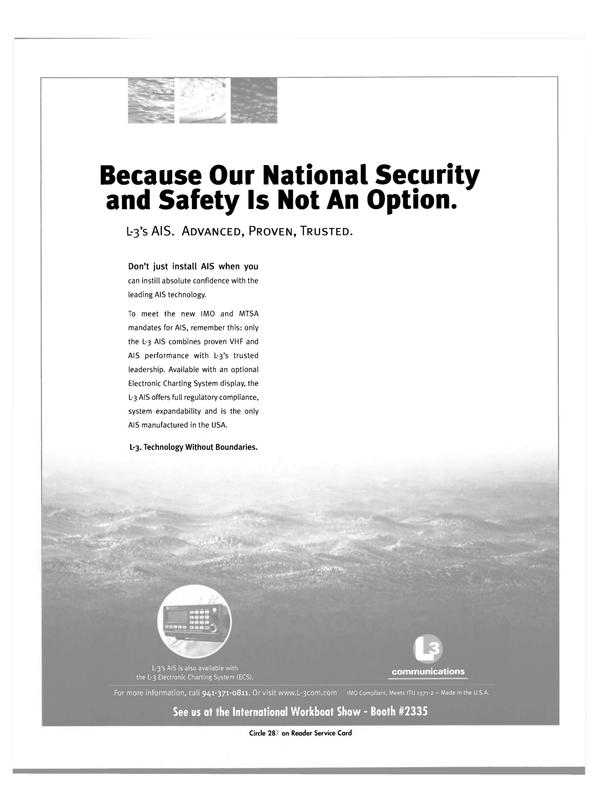 Maritime Reporter Magazine, page 52,  Nov 2003 AIS