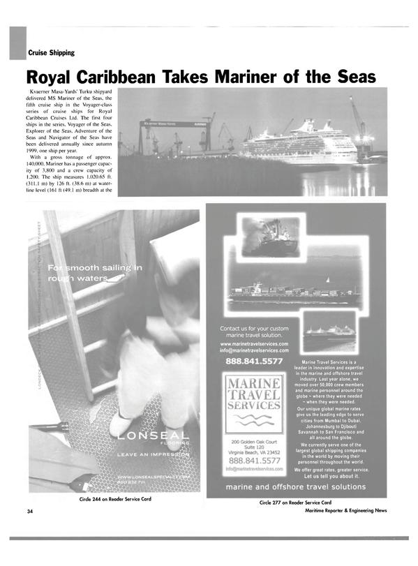 Maritime Reporter Magazine, page 34,  Mar 2004