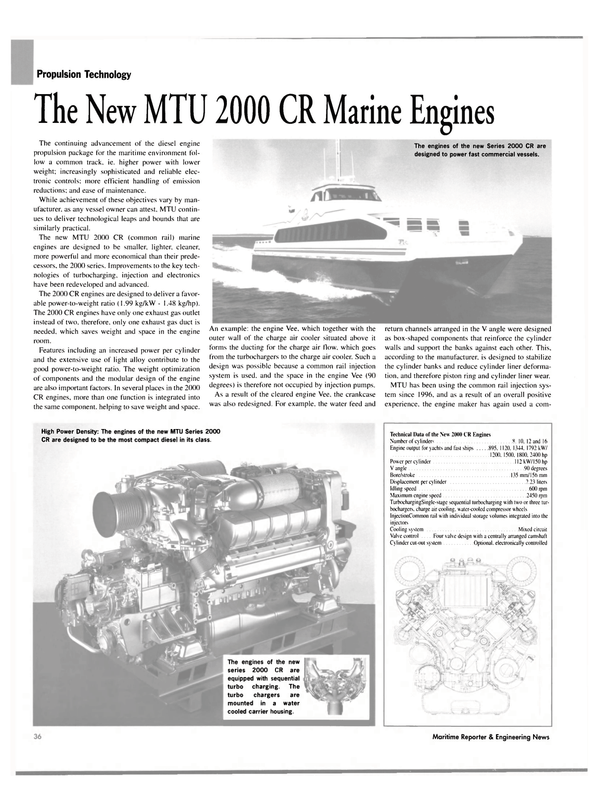 Maritime Reporter Magazine, page 40,  May 2004