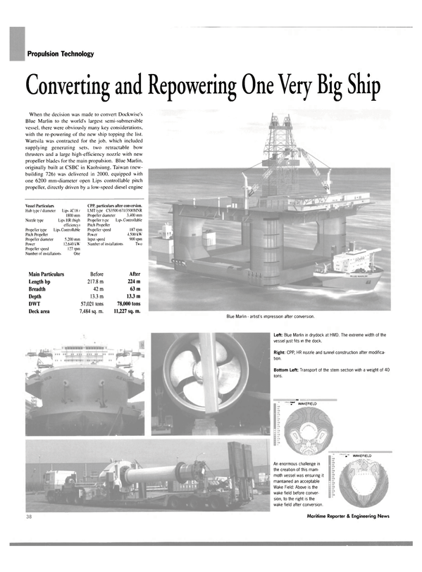 Maritime Reporter Magazine, page 42,  May 2004 Taiwan