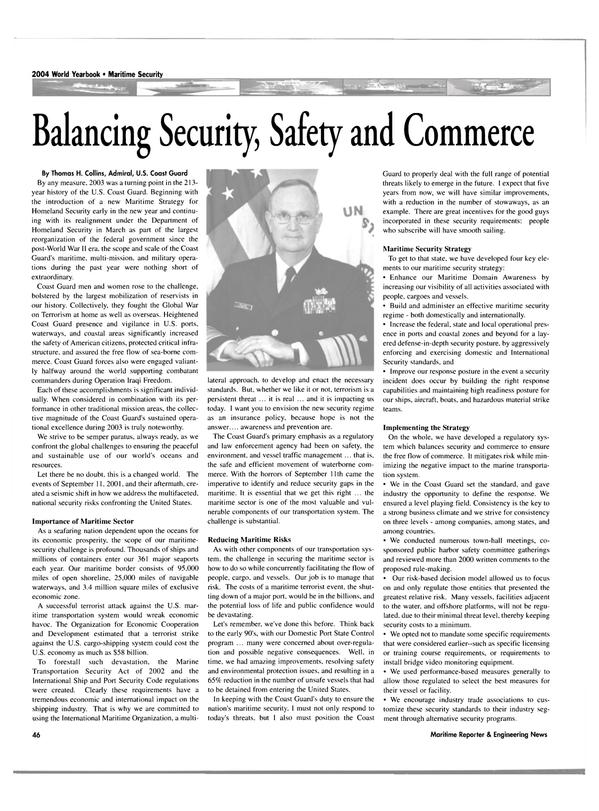 Maritime Reporter Magazine, page 46,  Jun 2004