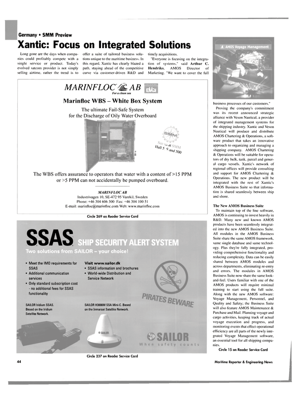Maritime Reporter Magazine, page 45,  Sep 2004