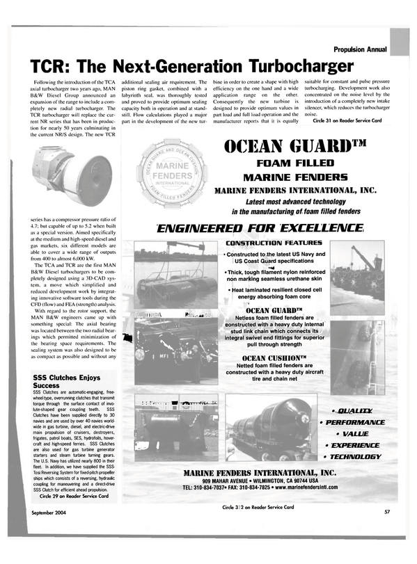 Maritime Reporter Magazine, page 58,  Sep 2004