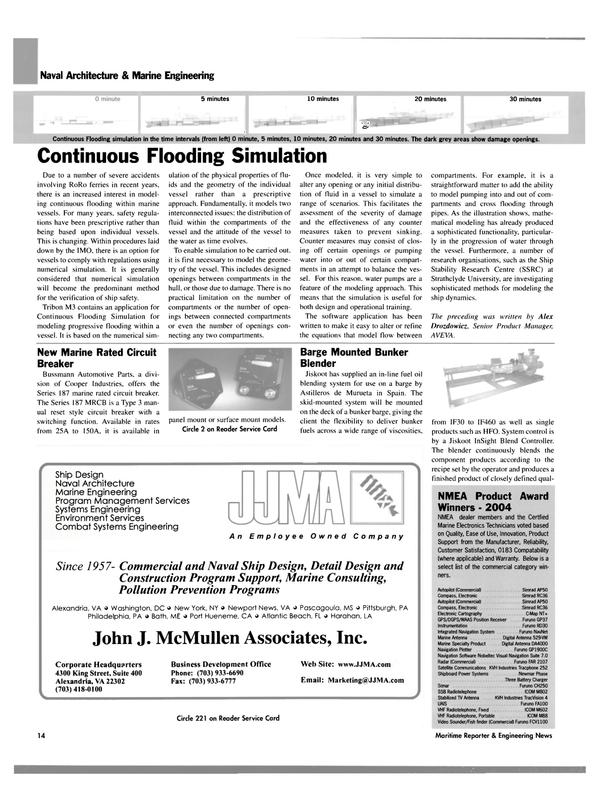 Maritime Reporter Magazine, page 14,  Dec 2004 Pennsylvania