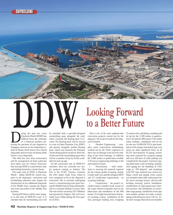 Maritime Reporter Magazine, page 42,  Mar 2013
