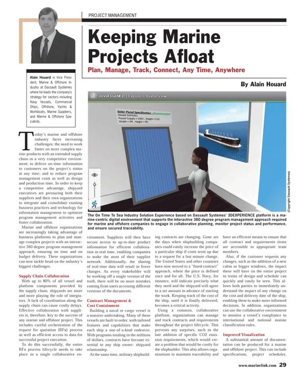Maritime Reporter Magazine, page 29,  Apr 2013