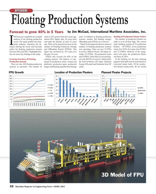 Maritime Reporter Magazine, page 32,  Apr 2013