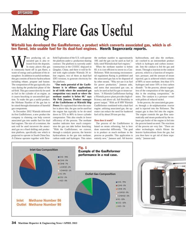 Maritime Reporter Magazine, page 34,  Apr 2013