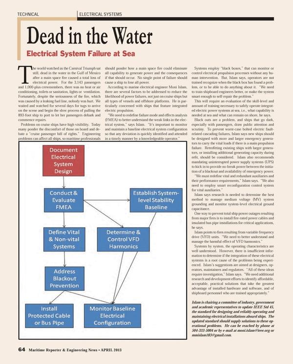 Maritime Reporter Magazine, page 64,  Apr 2013