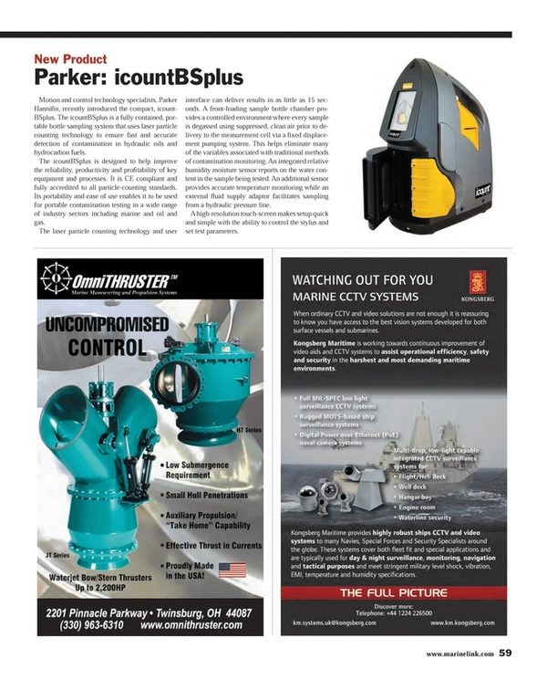 Maritime Reporter Magazine, page 59,  May 2013 oil and gas