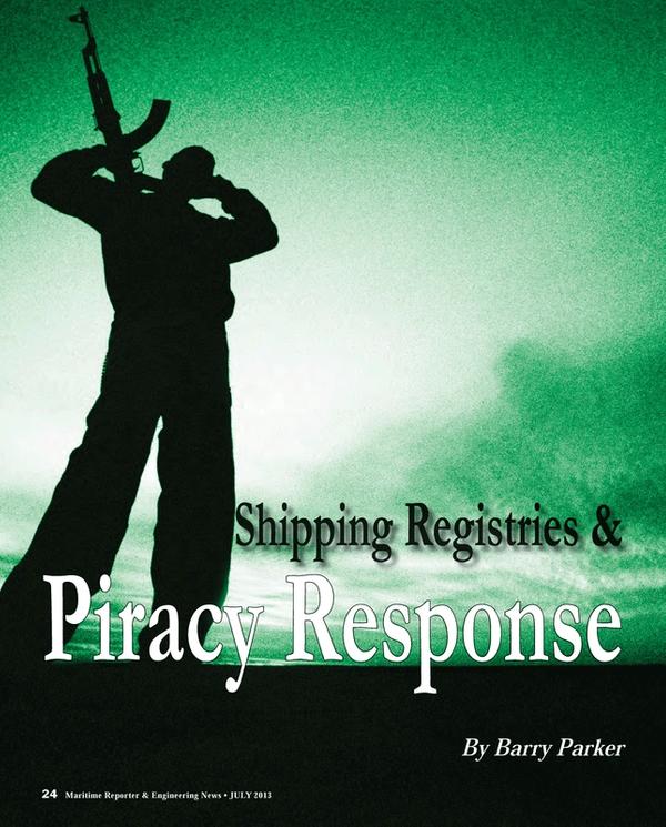 Maritime Reporter Magazine, page 24,  Jul 2013