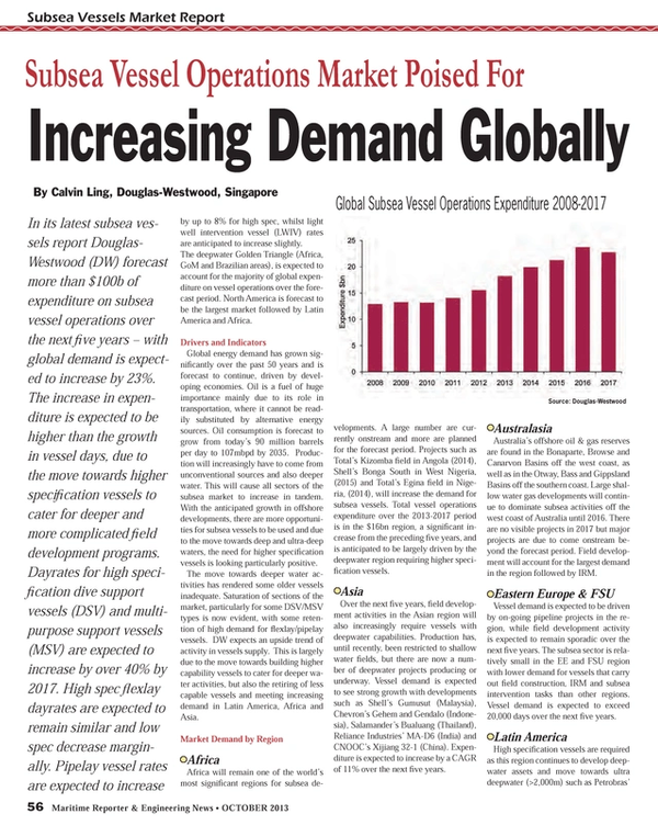 Maritime Reporter Magazine, page 56,  Oct 2013