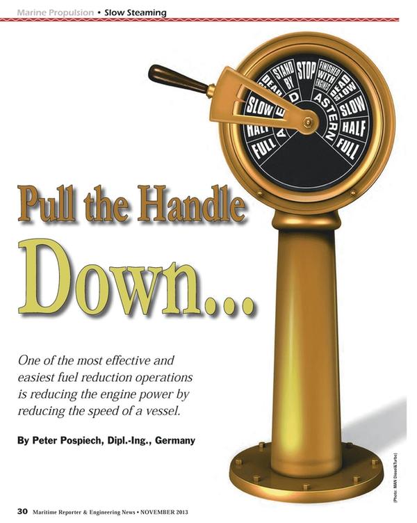 Maritime Reporter Magazine, page 30,  Nov 2013