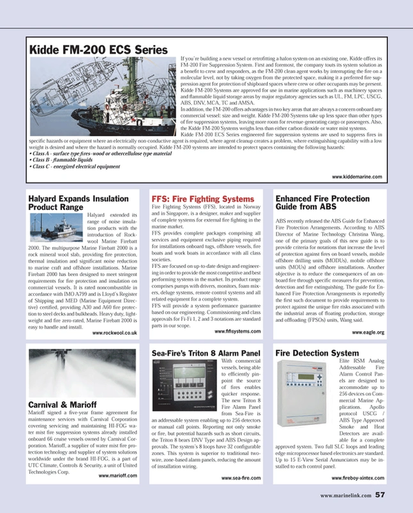 Maritime Reporter Magazine, page 57,  Mar 2014