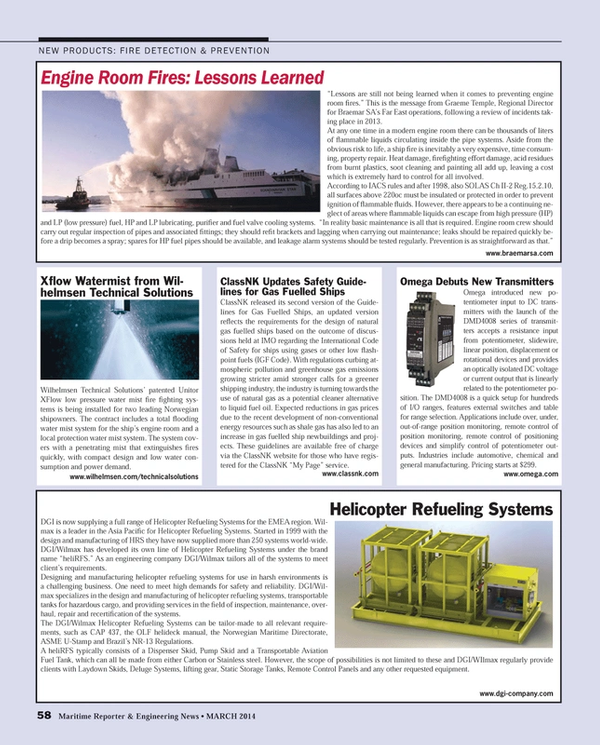 Maritime Reporter Magazine, page 58,  Mar 2014 United Nations