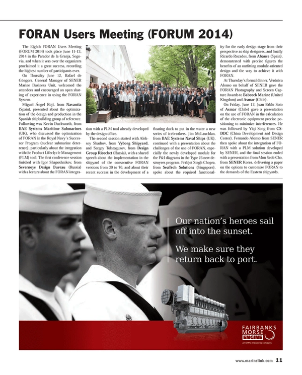 Maritime Reporter Magazine, page 11,  Jul 2014