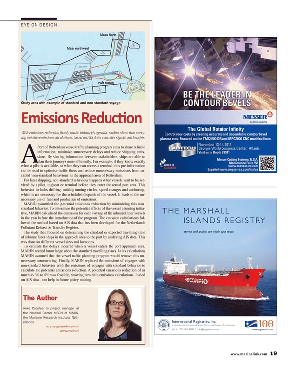 Maritime Reporter Magazine, page 19,  Jul 2014