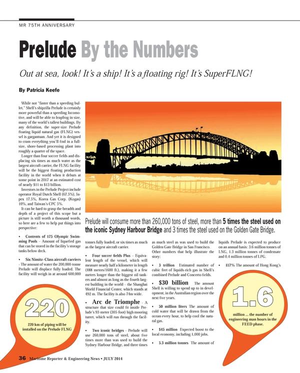 Maritime Reporter Magazine, page 36,  Jul 2014