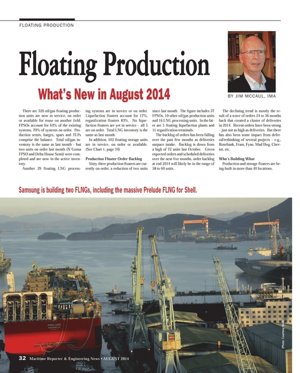 Maritime Reporter Magazine, page 32,  Aug 2014