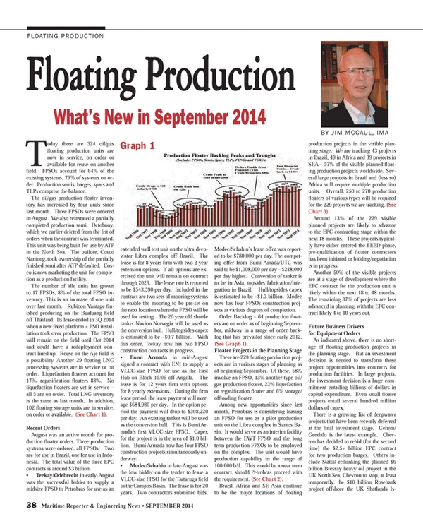 Maritime Reporter Magazine, page 38,  Sep 2014