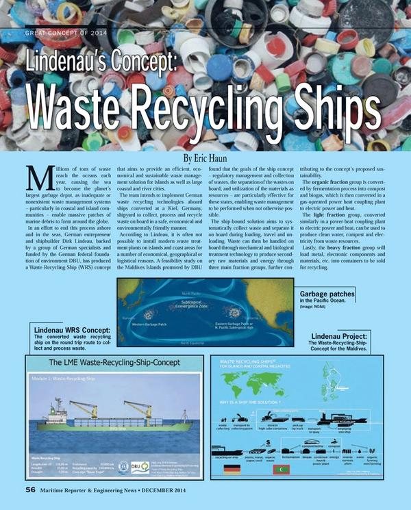 Maritime Reporter Magazine, page 56,  Dec 2014