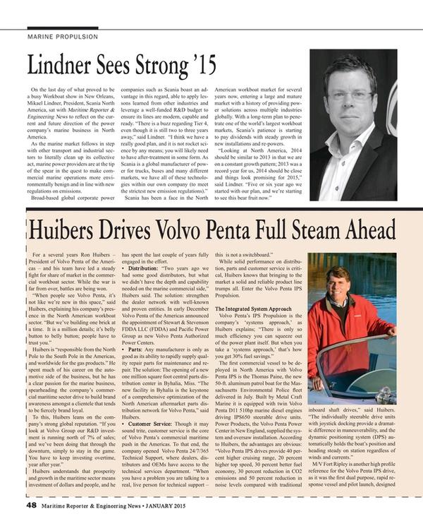 Maritime Reporter Magazine, page 48,  Jan 2015