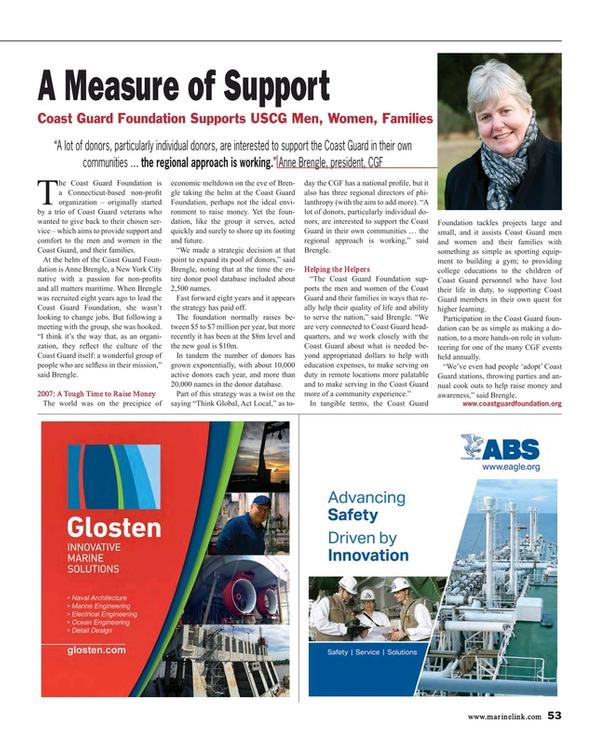 Maritime Reporter Magazine, page 53,  Mar 2015