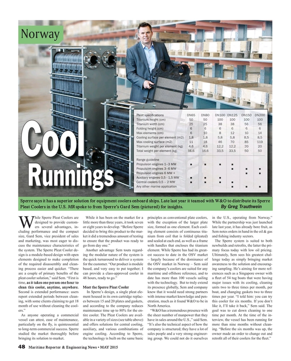 Maritime Reporter Magazine, page 48,  May 2015
