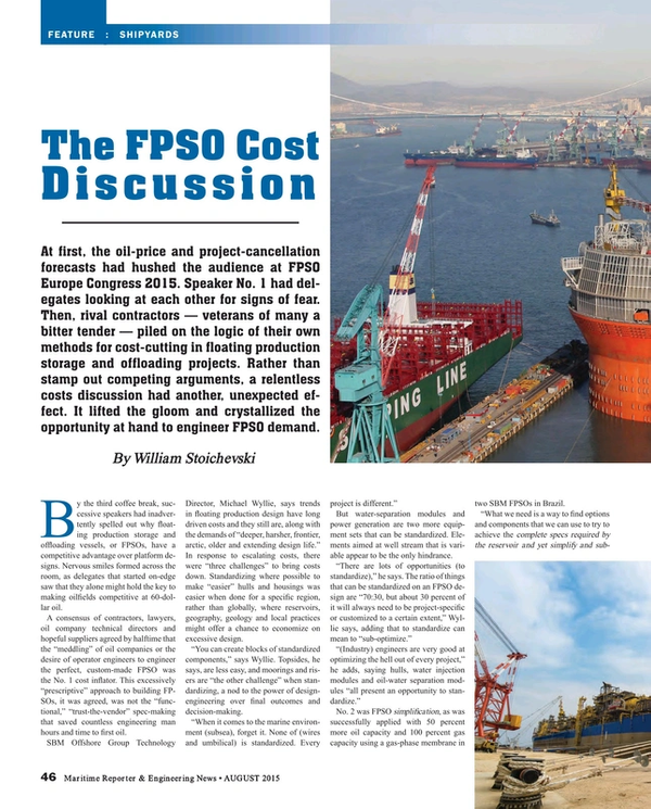 Maritime Reporter Magazine, page 46,  Aug 2015