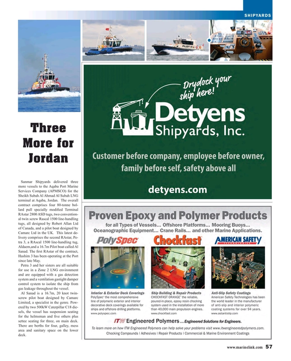 Maritime Reporter Magazine, page 57,  Aug 2015