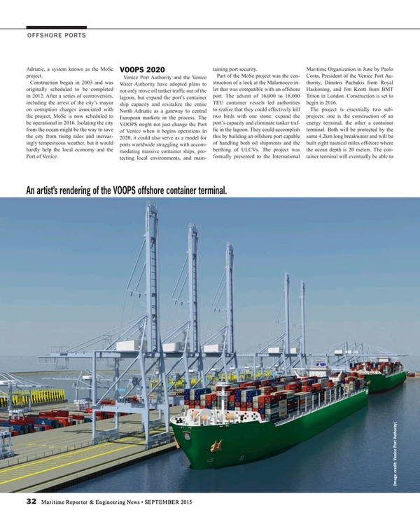 Maritime Reporter Magazine, page 32,  Sep 2015