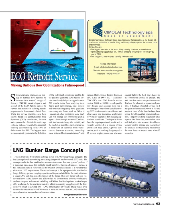 Maritime Reporter Magazine, page 63,  Sep 2015