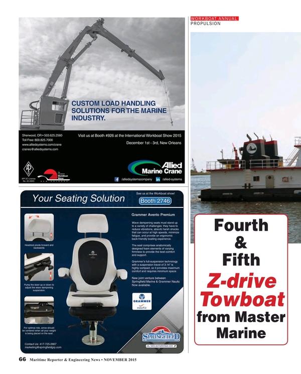 Maritime Reporter Magazine, page 66,  Nov 2015
