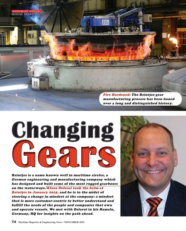 Maritime Reporter Magazine, page 74,  Nov 2015