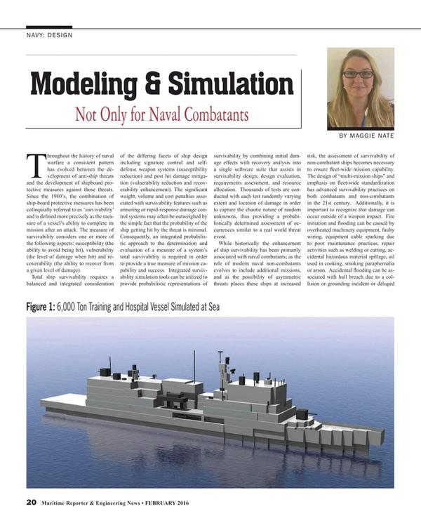 Maritime Reporter Magazine, page 20,  Feb 2016