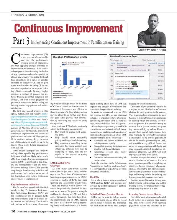 Maritime Reporter Magazine, page 16,  Mar 2016
