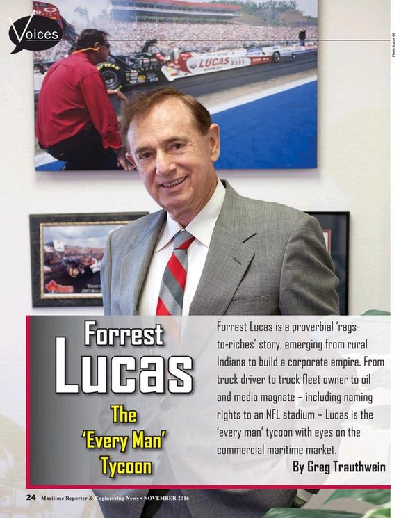 Maritime Reporter Magazine, page 24,  Nov 2016