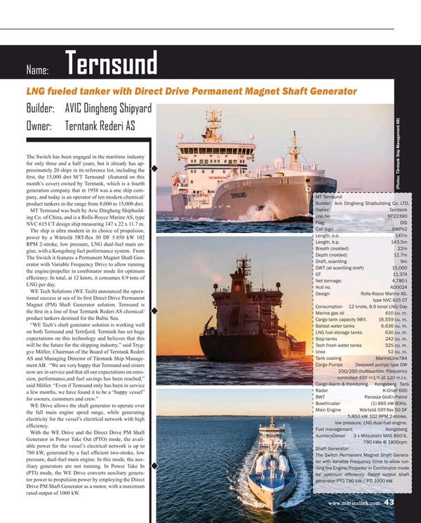 Maritime Reporter Magazine, page 43,  Dec 2016
