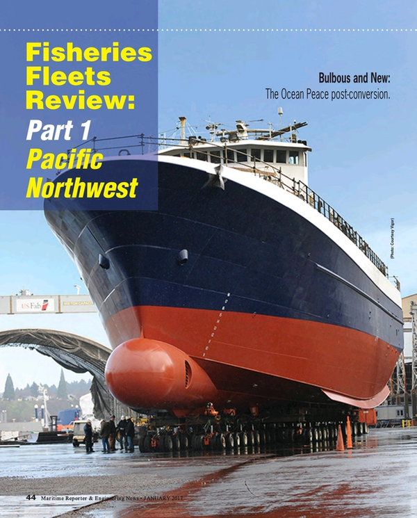 Maritime Reporter Magazine, page 44,  Jan 2017